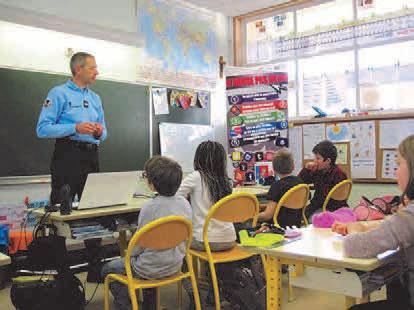 La gendarmerie à l'école élémentaire