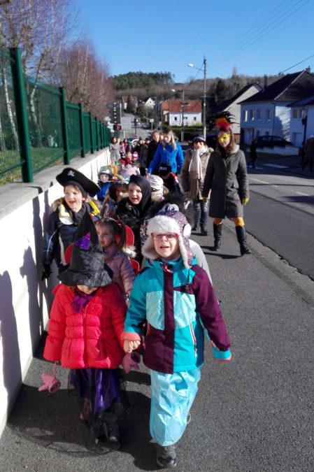 Carnaval dans les écoles