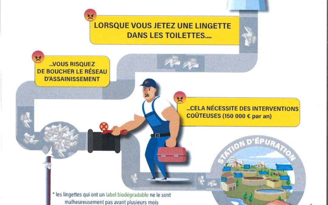 Stop aux lingettes !!